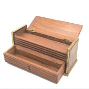 Antique Multi-level Rectangle Stationery Box