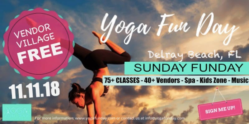 Delray First Annual Yoga Festival