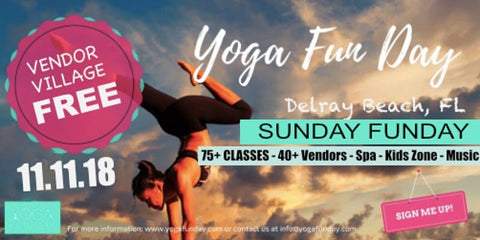 Delray Yoga Fun Day