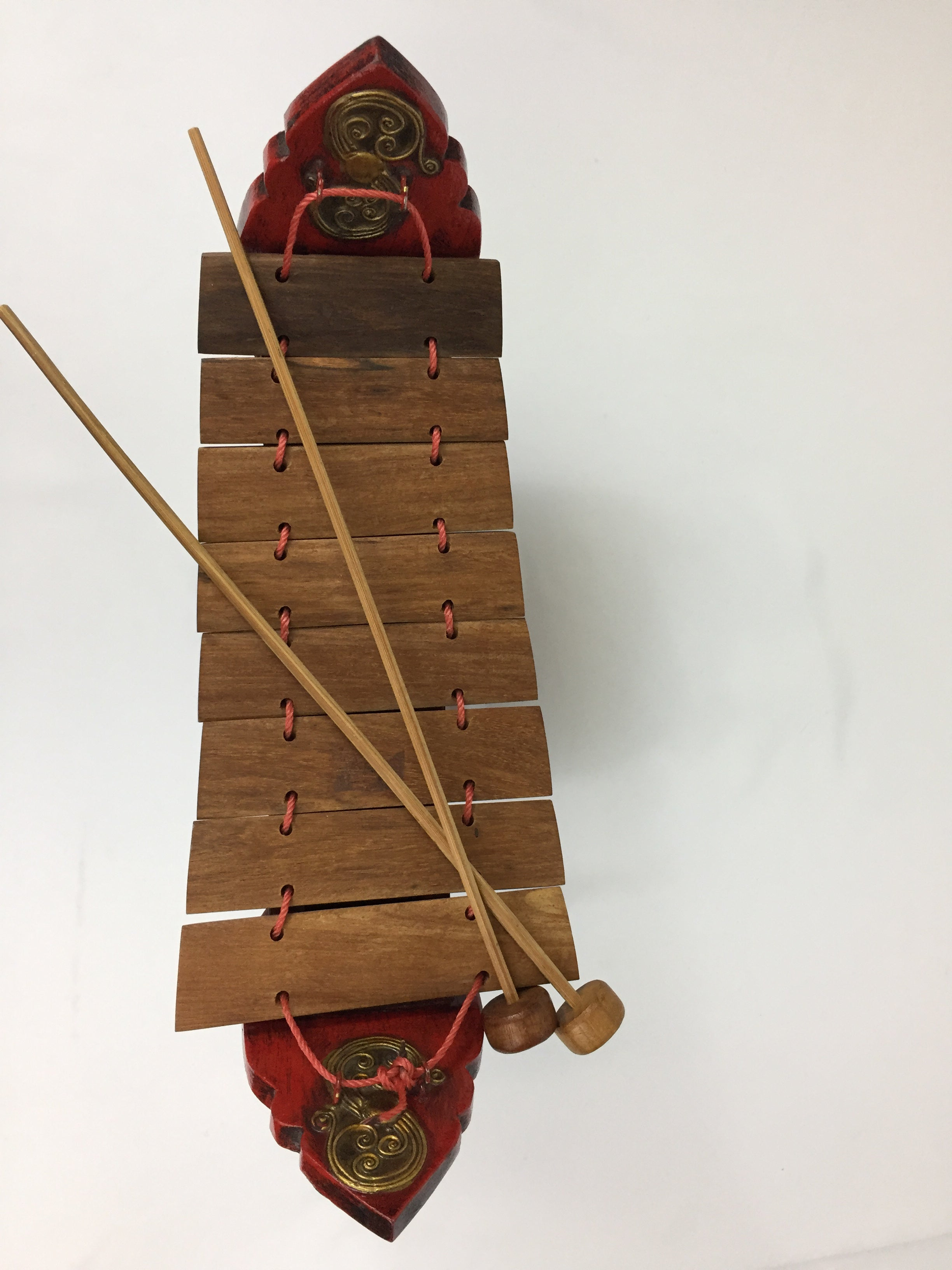 Thai Traditional Musical Instrument Wooden Xylophone.