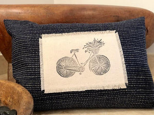 Indigo Throw Pillows