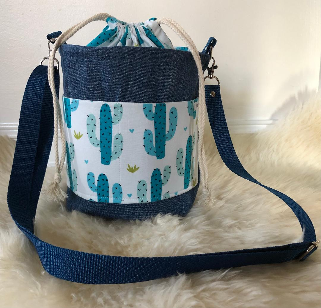 Denim  Bucket Bags