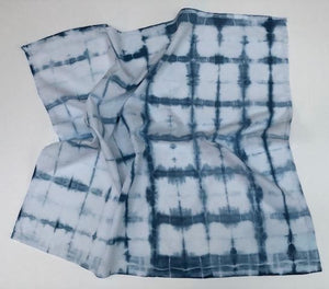Indigo Shibori Kitchen Towels