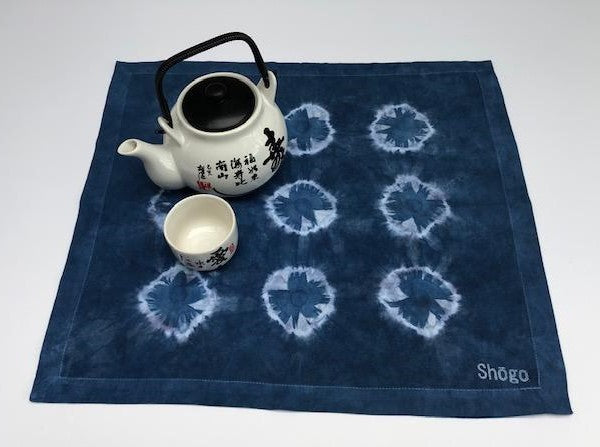 Indigo Shibori Tea Towels