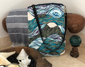 Punch Needle Tote Bag and Pouch
