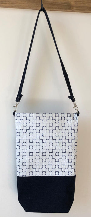Sashiko Cotton/Denim Handbags
