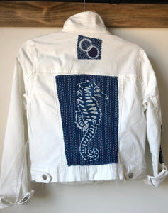Urban Boro White Denim Jackets