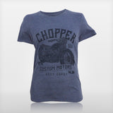 JoshyTees Custom Print 392 Men's Chopper Custom Motors Vintage T-Shirt 1