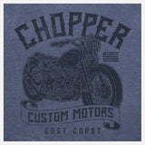 JoshyTees Custom Print 392 Men's Chopper Custom Motors Vintage T-Shirt 3