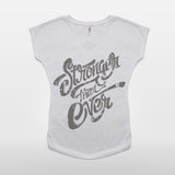 JoshyTees Custom Print 410 Women's Stronger Than Ever T-Shirt 2