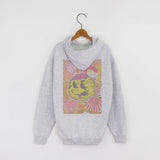 JoshyTees Custom Print 444 Men's 1990s Rave Poster Hoodie