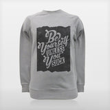 JoshyTees Custom Print 187 Mens Be Yourself Sweatshirt 1