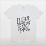 JoshyTees Custom Print 227 Mens Built To Last Grandad Fathers Day T-Shirt 2