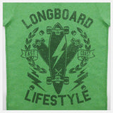 JoshyTees Custom Print 270 Boys Longboard Lifestyle T-Shirt 2