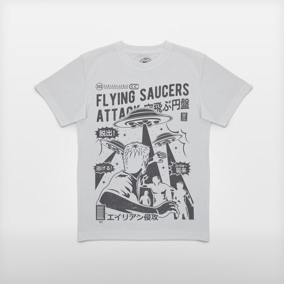 Boys 'Flying Saucers Attack!!' HD T-Shirt