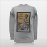 JoshyTees Custom Print 98 Men's Attack Of The 50Ft Woman Raglan Sweat 1