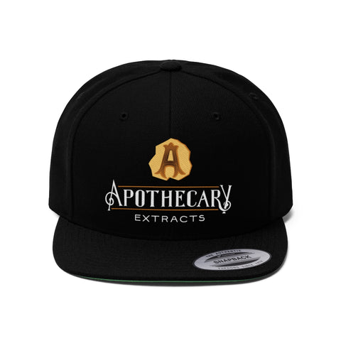 Apothecary Extracts Unisex Flat Bill Hat
