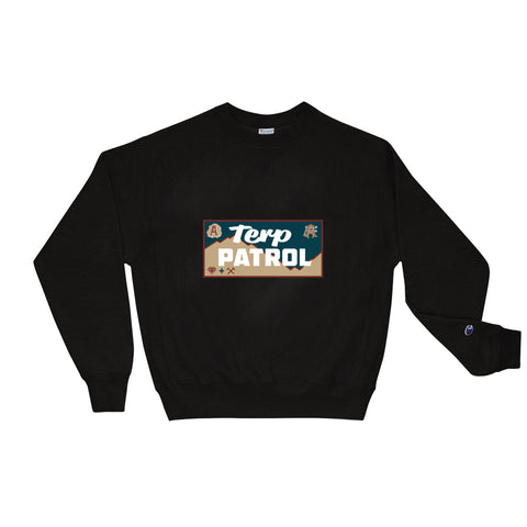 Apothecary Extracts Terp Patrol Champion Sweatshirt