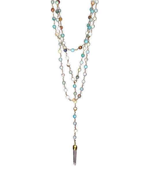 c6d2aa48e84143 Carrie Multi Layered Necklace
