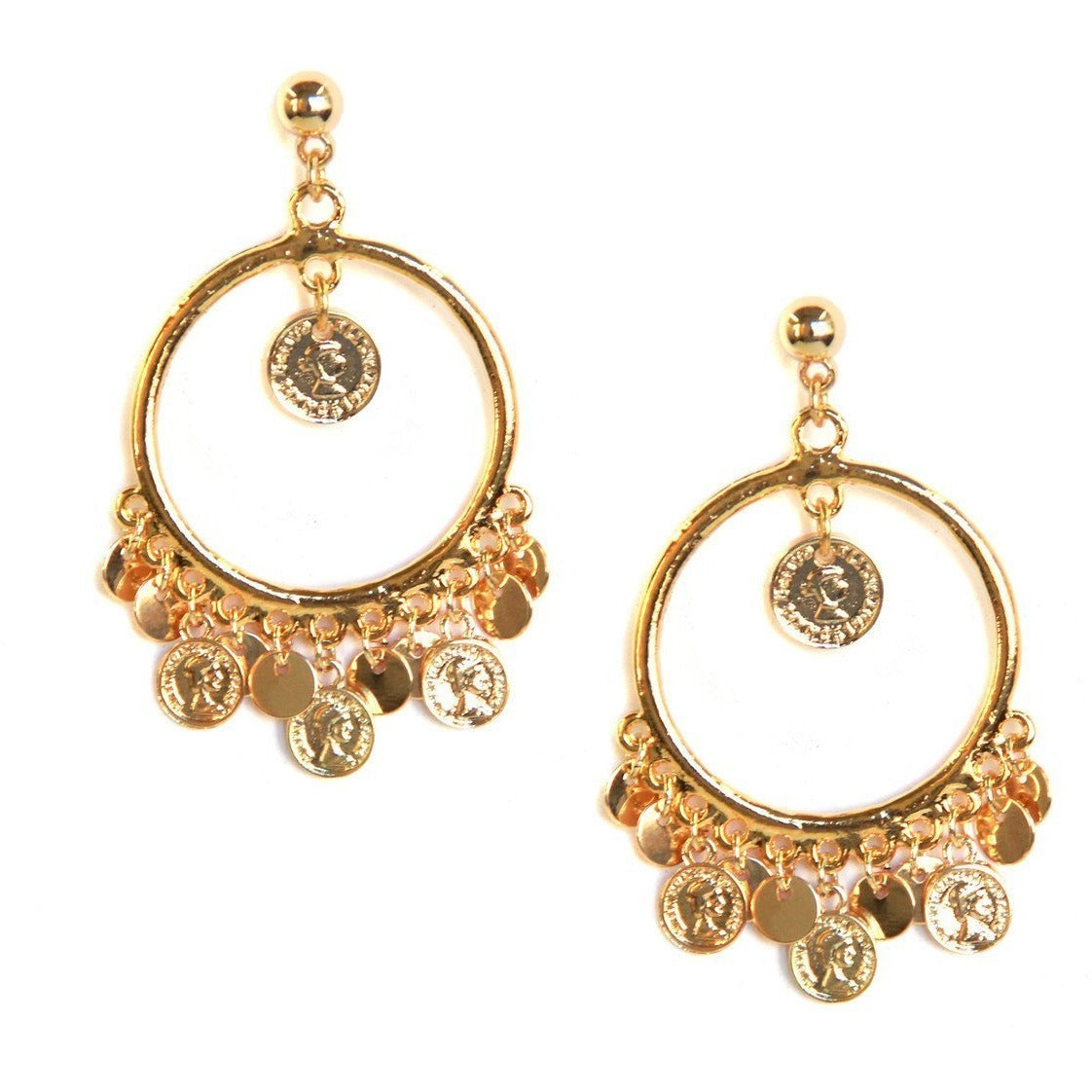 San Juan Coin Earrings