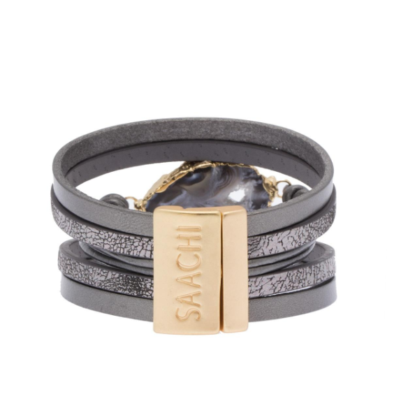 Morning Leather Bracelet
