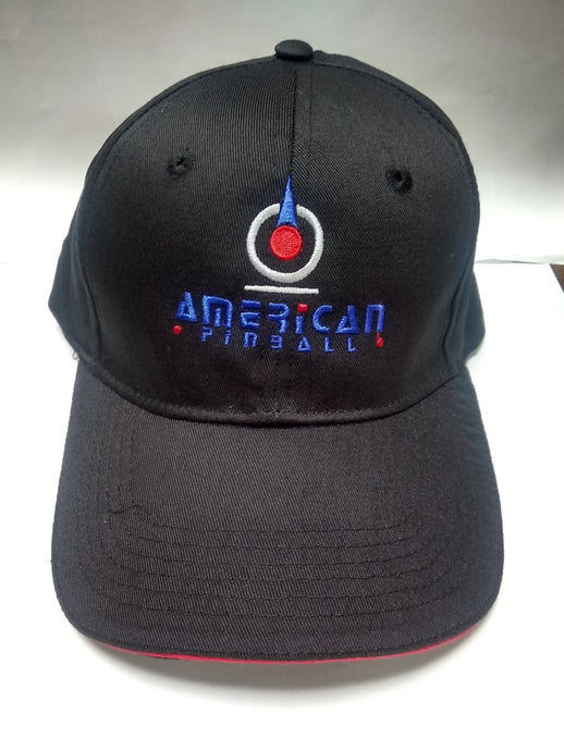American Pinball Embroidered Baseball Cap.