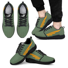 FLY Simple Shoes | Kaki with Black Trim Athletic Sneakers