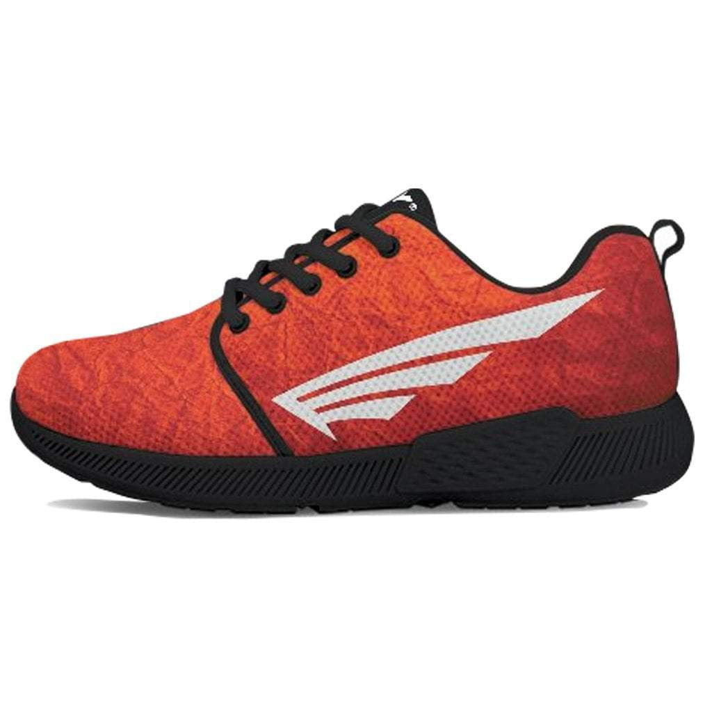 FLY Simple Shoes | Red Skin with Black Trim Athletic Sneakers