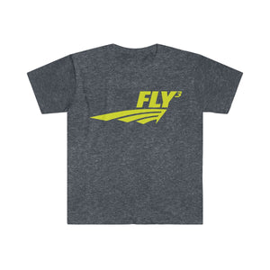 FLY³ Men's Fitted Short Sleeve T-Shirt