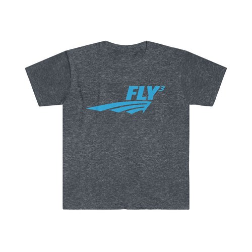 FLY³ Men's Fitted Short Sleeve T-Shirts
