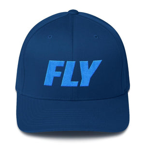 FLY Athletic Original Type Blue logo Men Cap