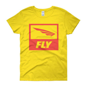 FLY Athletic Original FLY Wing Logo Athletica Technica™ Ladies short sleeve t-shirt