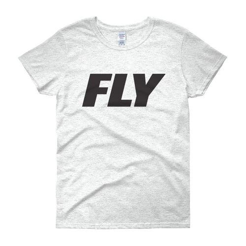 FLY Athletic Original FLY Type  Logo Ladies short sleeve t-shirt