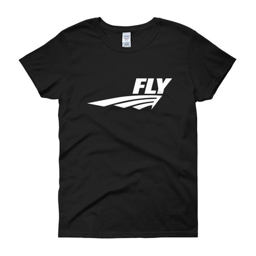FLY Athletic Original Logo Ladies short sleeve t-shirt