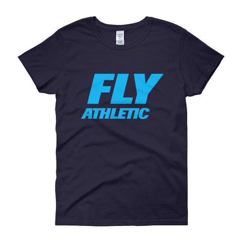 FLY Athletic Original FLY TYPE Original  Logo Ladies short sleeve t-shirt