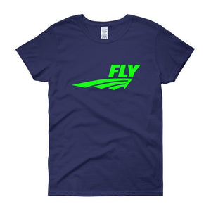 FLY Athletic Original FLY Original  Logo Ladies short sleeve t-shirt