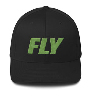 FLY Athletic Original Type Green logo Men Cap