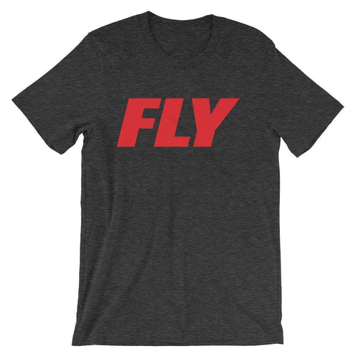 FLY Athletic Original FLY Type red Logo Short-Sleeve Men T-Shirt