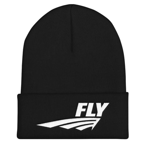 FLY Athletic original wing logo embroidery Cuffed Beanie Men and ladies Hat