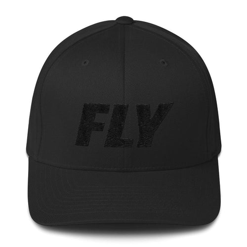 FLY3 Type Logo Structured Twill Men Cap