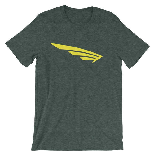 FLY Athletic Original FLY Wing Yellow Logo Short-Sleeve Men T-Shirt