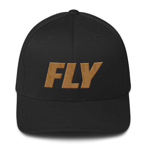 FLY Athletic Original Type Gold logo Men Cap