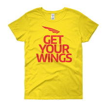 FLY Athletic Original FLY Get Your Wing Logo Ladies short sleeve t-shirt