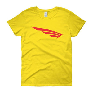 FLY Athletic Original Red  Wing logo short sleeve ladies T-Shirt