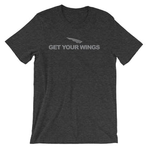 The Get Your Wings  Fly athletic Men t-Shirt Short-Sleeve