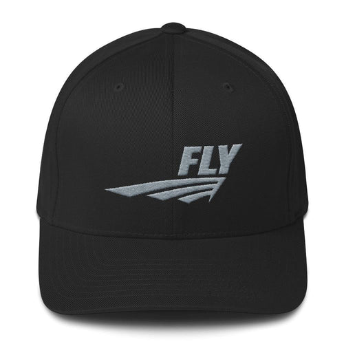FLY Athletic Original Silver logo Men Cap