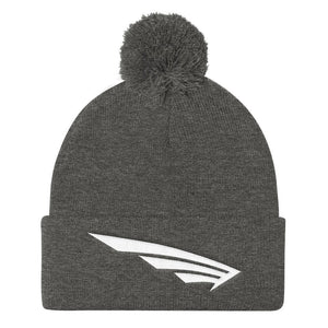 FLY Athletic original wing logo embroidery Pom Pom Knit Men and ladies Hat