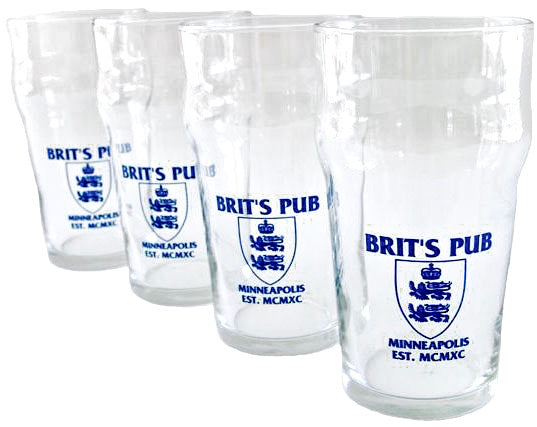 Brit's Pub Imperial Pint Set