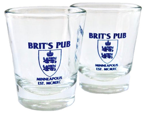 Brit's Pub Shot Glass Set