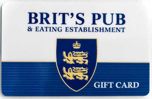 Brit's Pub Gift Card